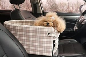 The 5 Best Console Dog Car Seats for Small and Medium Sized Dogs