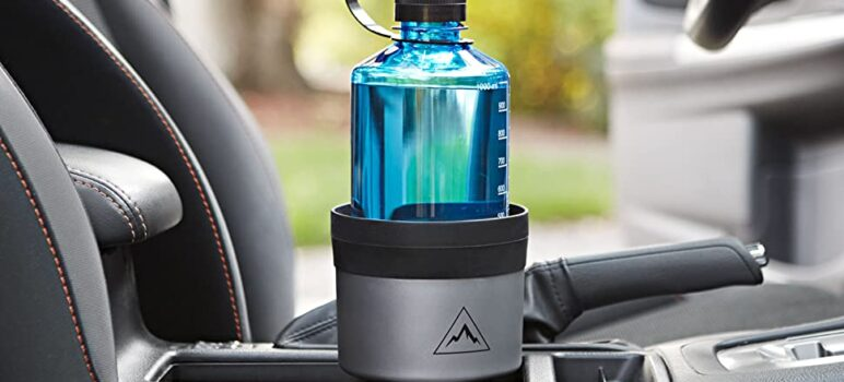 The best car cup holder expander adapters for large water bottles and mugs